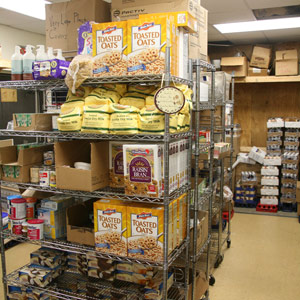 Giving Back - Food Pantry